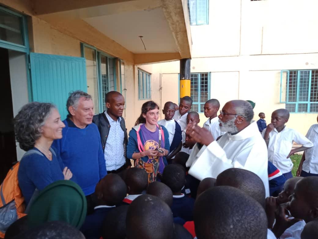 Visita ai nostri bambini sieropositivi del Dr. Med. Giorgio Franciosi
